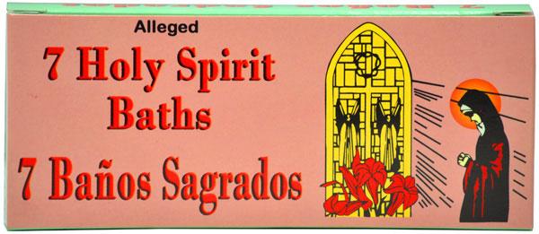 7 Holy Spirit Bath Oil - 7 Pack