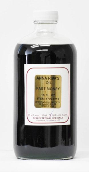 Anna Riva Fast Money Oil - 0 25oz