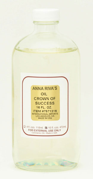 Anna Riva Crown/Success Oil - 16oz