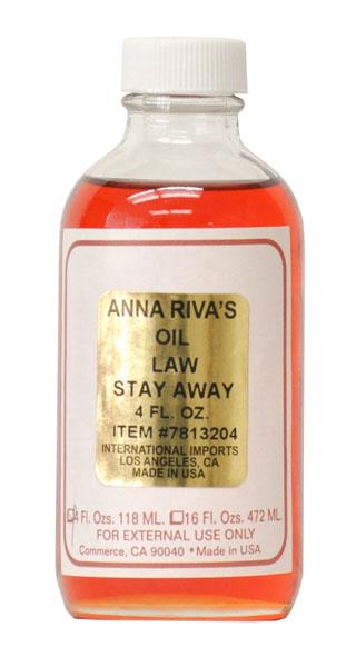 Anna Riva Law Stay Away Oil - 4oz