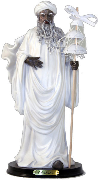 Orisha Obatala Santeria Statue 13