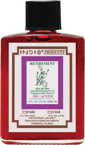 Indio Retirement Oil 4oz
