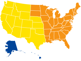 the U.S. Map